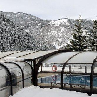 piscina invierno El Hotel de Baqueira Beret