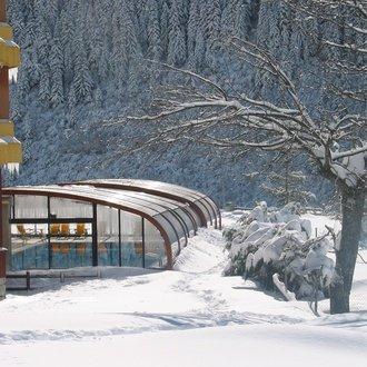 piscina invierno2 El Hotel de Baqueira Beret