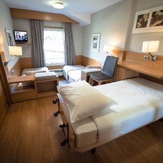 Habitación doble + supletoria El Hotel de Baqueira Beret